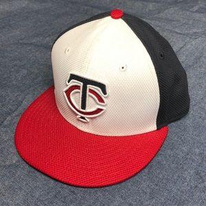 Minnesota Twins flat bill hat